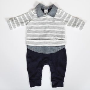Gap 3-in-1 One Piece, Size 0-3 months